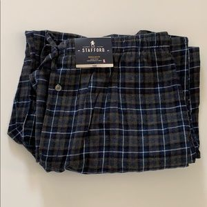 🎈 STAFFORD PLAID DRAWSTRING WAIST SLEEP PANTS